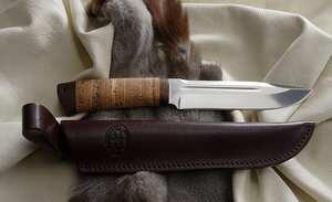 """Нож """"Селигер""""  граб"""